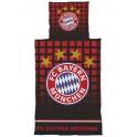 Bayern-München ágyneműhuzat (fekete-piros)